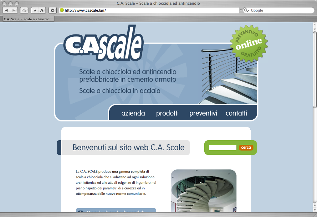 Cascale website