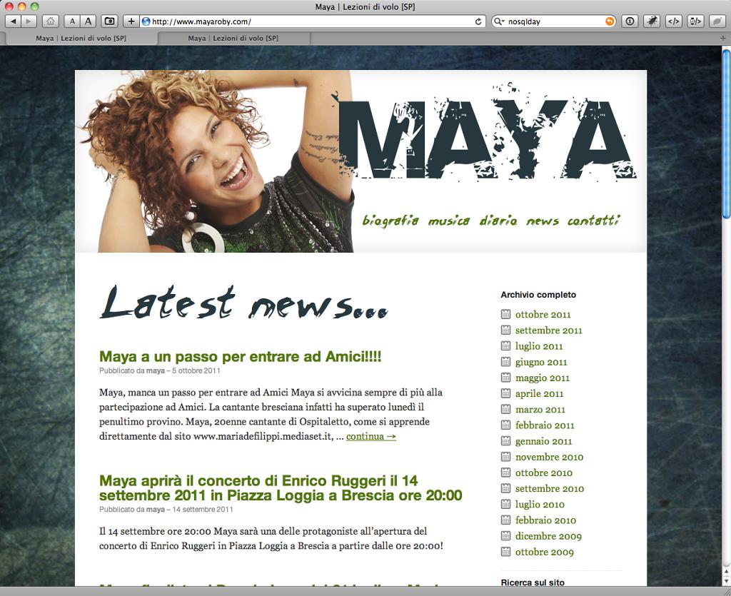 Maya Roby website