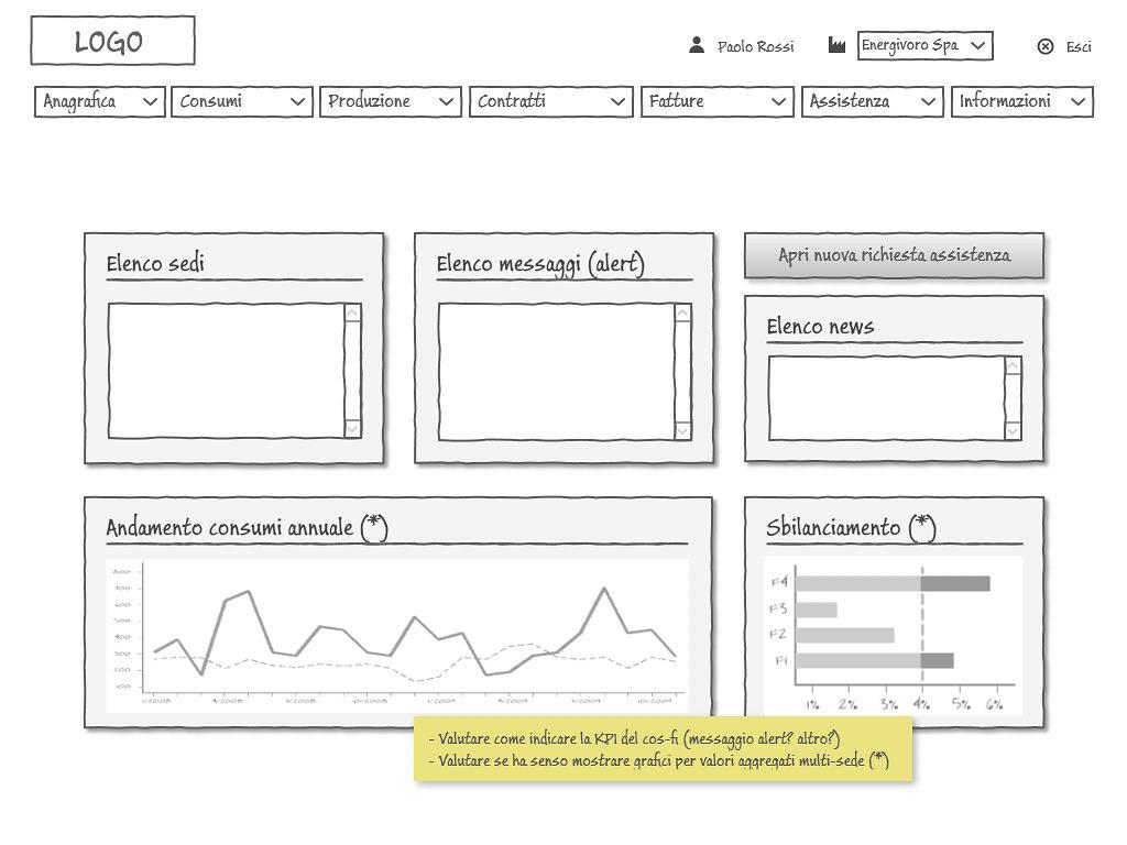 UX/UI design for a desktop application