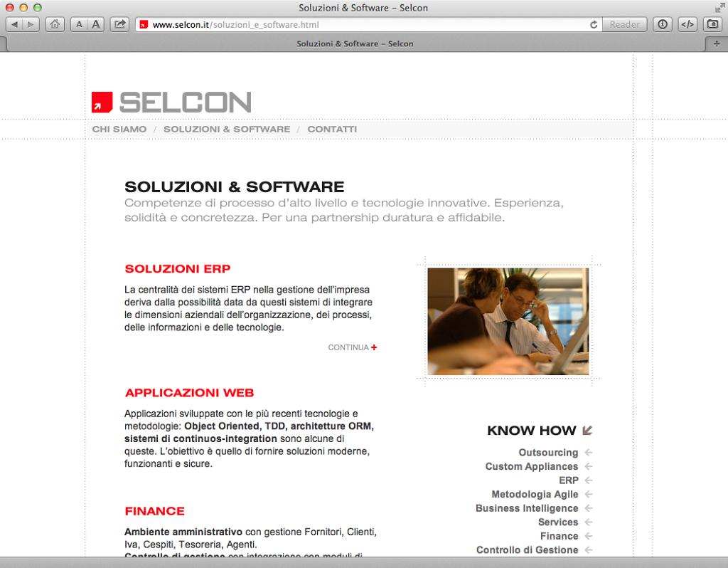 Selcon website