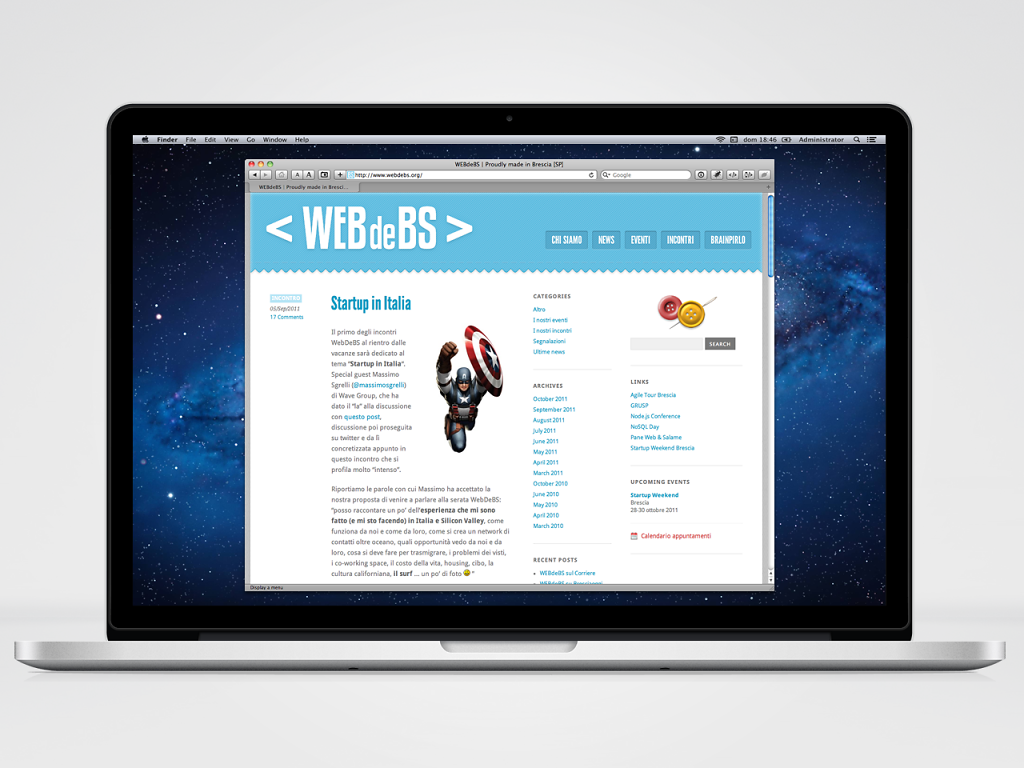 WEBdeBS association website